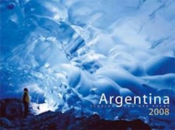 Papel Argentina 2008 Calendario De Pared