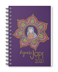 Papel Agenda 2020 Jopi Anillada Violeta