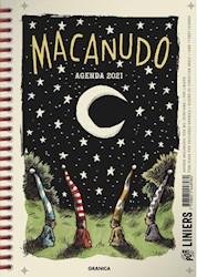 Papel Agenda Macanudo 2021 Anillada Noche
