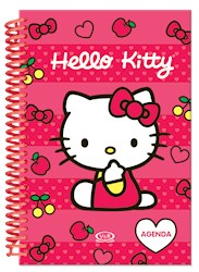 Papel Agenda Hello Kitty Anillada 2016