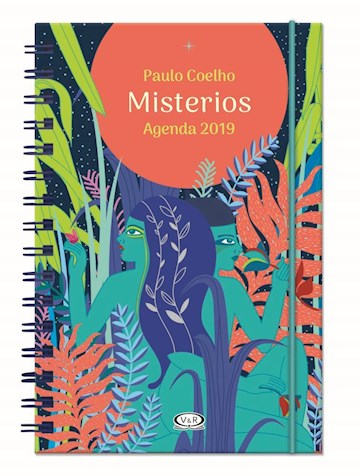 Papel Agenda Paulo Coelho 2019 - Anillada: Misterios (Pareja)