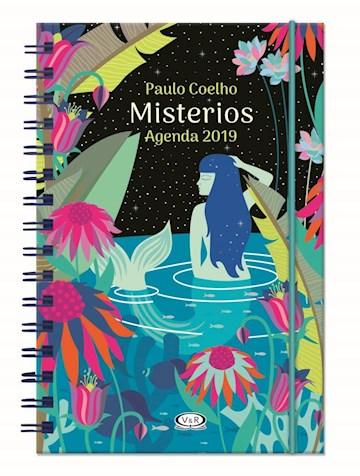 Papel Agenda Paulo Coelho 2019 - Anillada: Misterios (Sirena)