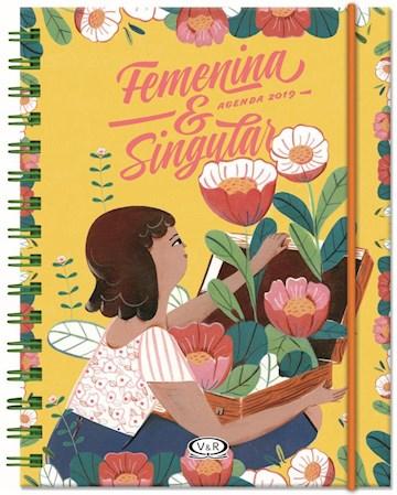 Papel Agenda Femenina & Singular 2019 (Amarilla)