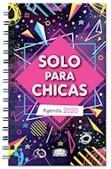 Papel AGENDA 2020 SOLO PARA CHICAS [ESPACIAL] (INCLUYE STICKERS) (BOLSILLO) (ANILLADA) (CARTONE)