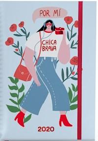 Libro Agenda A5 2020 : Chica Brava