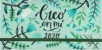 Libro Agenda Pocket 2020 : Creo En Mi