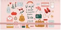Libro Agenda Pocket 2020 : Viaja A Donde Te Sientas ( Mas ) Viva