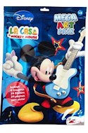 Papel CASA DE MICKEY MOUSE MEGA ART PACK (INCLUYE 6 CRAYONES + 24 STICKERS + 24 PAGINAS PARA PINTAR) (RUST