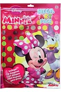 Papel MINNIE MEGA ART PACK (INCLUYE 6 CRAYONES + 24 STICKERS + 24 PAGINAS PARA PINTAR) (RUSTICA)