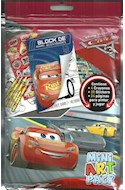 Papel MINI ART PACK (CARS) (LIBRO + 4 CRAYONES + 20 STICKERS)