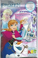 Papel MINI ART PACK (FROZEN) (LIBRO + 4 CRAYONES + 20 STICKERS)