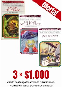 Papel Pack 3 Libros: Suspenso