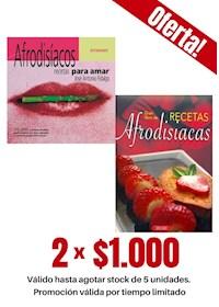 Papel Pack 2 Libros: Recetas Afrodisíacas