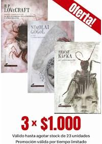 Papel Pack 3 Libros: Terror Y Misterio I