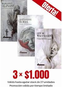 Papel Pack 3 Libros: Terror Y Misterio Ii