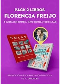 Papel Pack 2 Libros  Florencia Freijo +  Envío Gratis A Todo El Pais