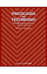 Papel PSICOLOGIA DEL TESTIMONIO