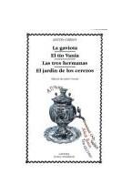 Papel LA GAVIOTA, EL TIO VANIA, LAS TRES HERMANAS, EL JA