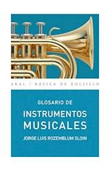 Papel GLOSARIO DE INSTRUMENTOS MUSICALES