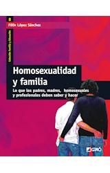 Papel HOMOSEXUALIDAD Y FAMILIA
