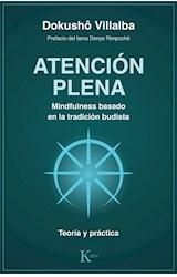 Papel ATENCION PLENA. MINDFULNESS BASADO EN LA TRADICION BUDISTA