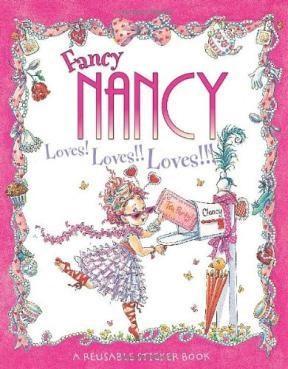 Papel Fancy Nancy Loves Loves Loves