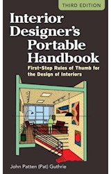 E-book Interior Designer's Portable Handbook: First-Step Rules of Thumb for the Design of Interiors