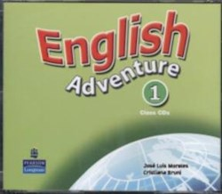 Papel English Adventure 1 Intensive Class Cd