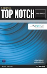 Papel Top Notch Fundamentals Student Book with MyEnglishLab (3rd Edition)