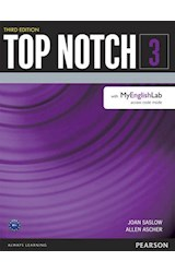 Papel Top Notch 3 Student Book with MyEnglishLab (3rd Edition)