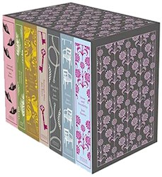 Papel Jane Austen: The Complete Works Hardcover Boxed Set