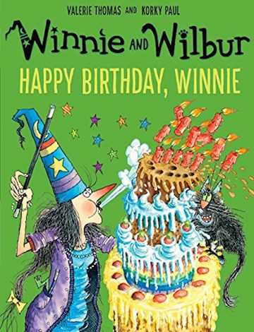Papel Winnie And Wilbur: Happy Birthday, Winnie