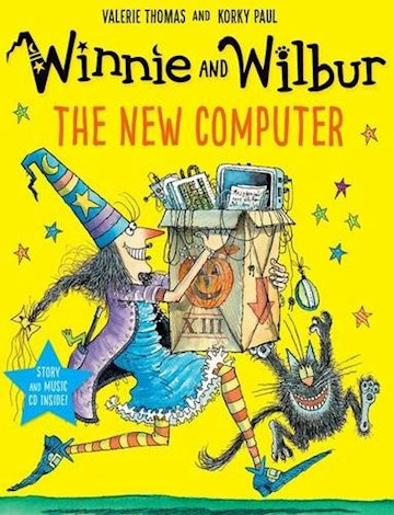 Papel Winnie And Wilbur: The New Computer