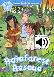 Papel Rainforest Rescue (Read And Imagine Level 1)