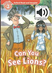Papel Can You See Lions? (Read & Imagine Level 2)