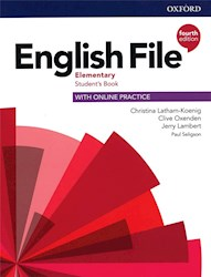 Papel English File Fourth Edition Elementary Student'S Book (With Online Practice)