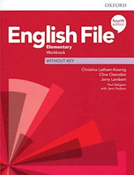 Papel English File Fourth Edition Elementary Workbook