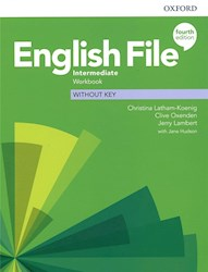 Papel English File Fourth Edition Intermediate Workbook