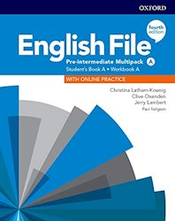 Papel English File Fourth Edition Pre-Intermediate Multipack A