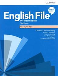 Papel English File Fourth Edition Pre-Intermediate Workbook