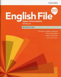 Papel English File Fourth Edition Upper-Intermediate Workbook