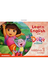 Papel Learn English with Dora the Explorer 1 Activity Book