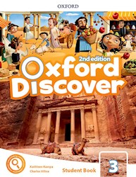 Libro Oxford Discover 3  Student'S Book With App Pack