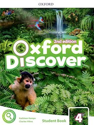 Libro Oxford Discover 4  Student'S Book With App Pack