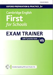 Papel Cambridge English First For Schools Exam Trainer With Key