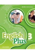 Papel ENGLISH PLUS 3 STUDENT'S BOOK (2 EDITION)