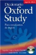Papel Diccionario Oxford Study N/E W/Cd Rom