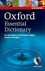 Papel Oxford Essential Dictionary And Cd-Rom Pack 2E