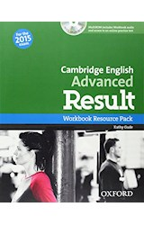 Papel Cambridge English Advanced Result Workbook Resource Pack