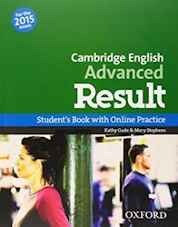 Libro Cambridge English Advanced Result St With Online Practice Pack